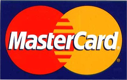 now accepting MasterCard